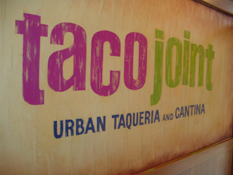 The next 5 photos were of work done at the Taco Joint, Lincoln Park, Chicago.