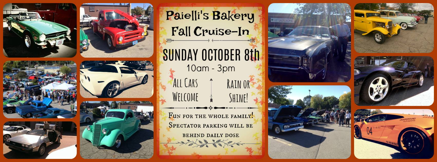 Paielli's Bakery Fall Cruise-in @ Paielli's Bakery | Kenosha | Wisconsin | United States