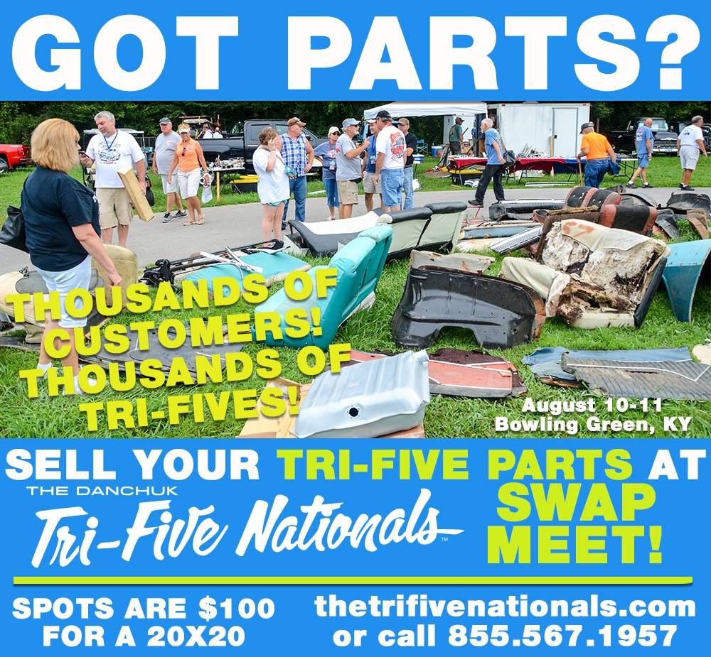 Tri-Five Nationals Swap Meet @ Beech Bend Raceway | Bowling Green | Ohio | United States