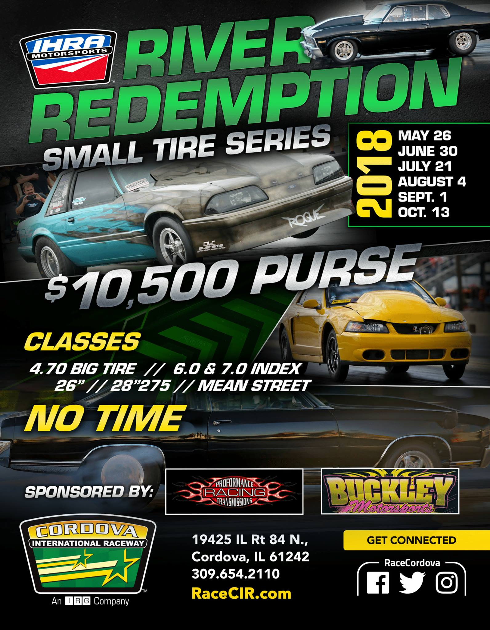River Redemption Small Tire Series @ Cordova International Raceway | Cordova | Illinois | United States