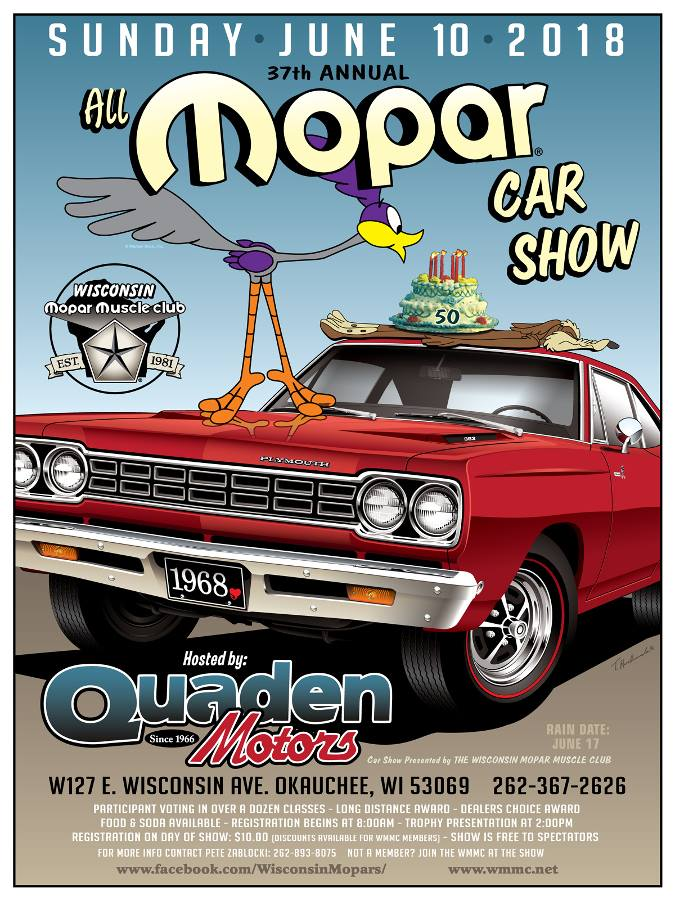 All MOPAR Car Show @ Quaden Motors | Nashotah | Wisconsin | United States