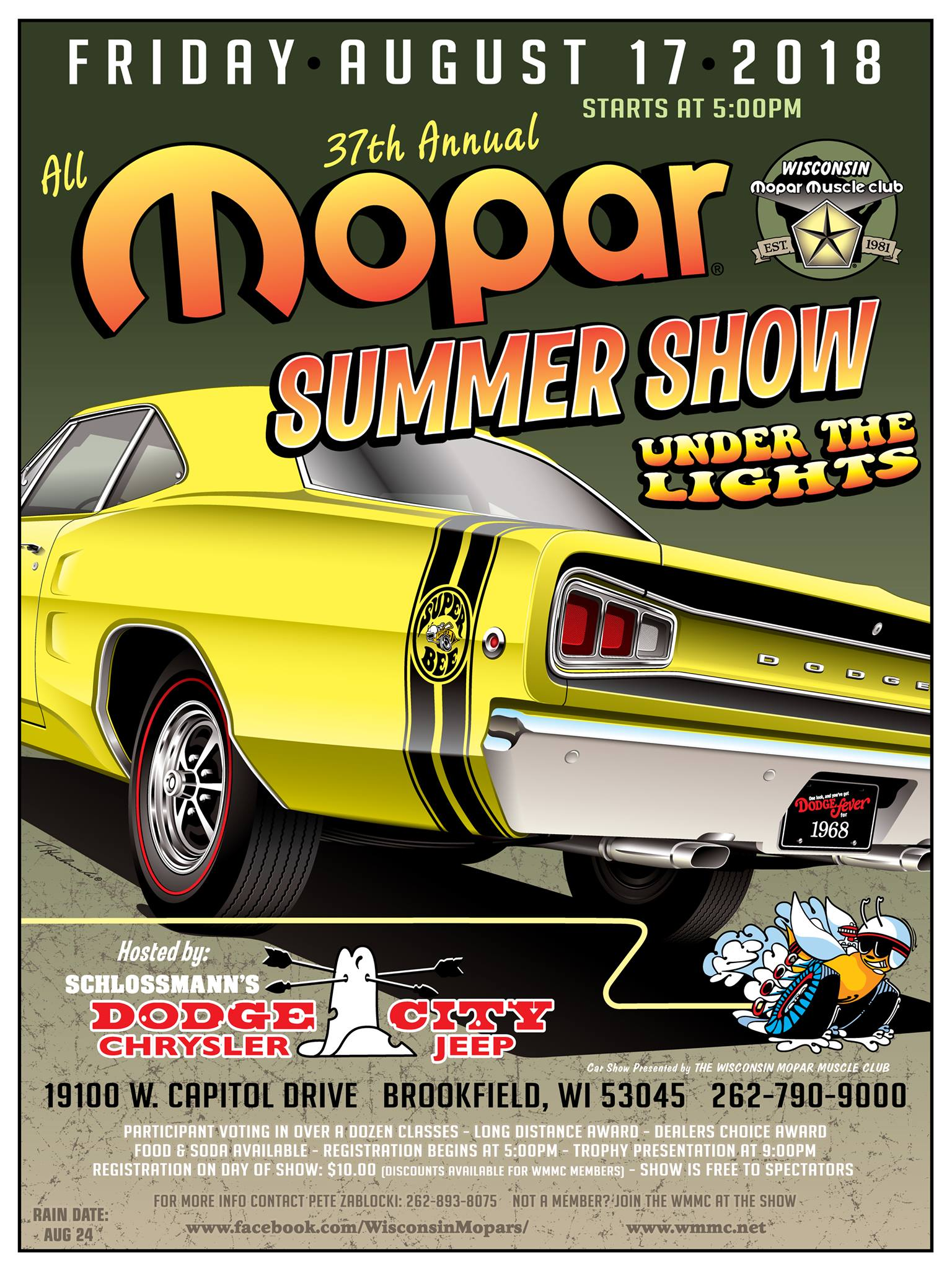All Mopar Summer Show @ Schlossmann's Dodge City | Brookfield | Wisconsin | United States