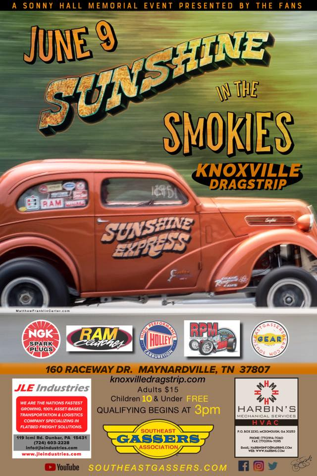Sunshine in the Smokies @ Knoxville Dragstrip | Maynardville | Tennessee | United States