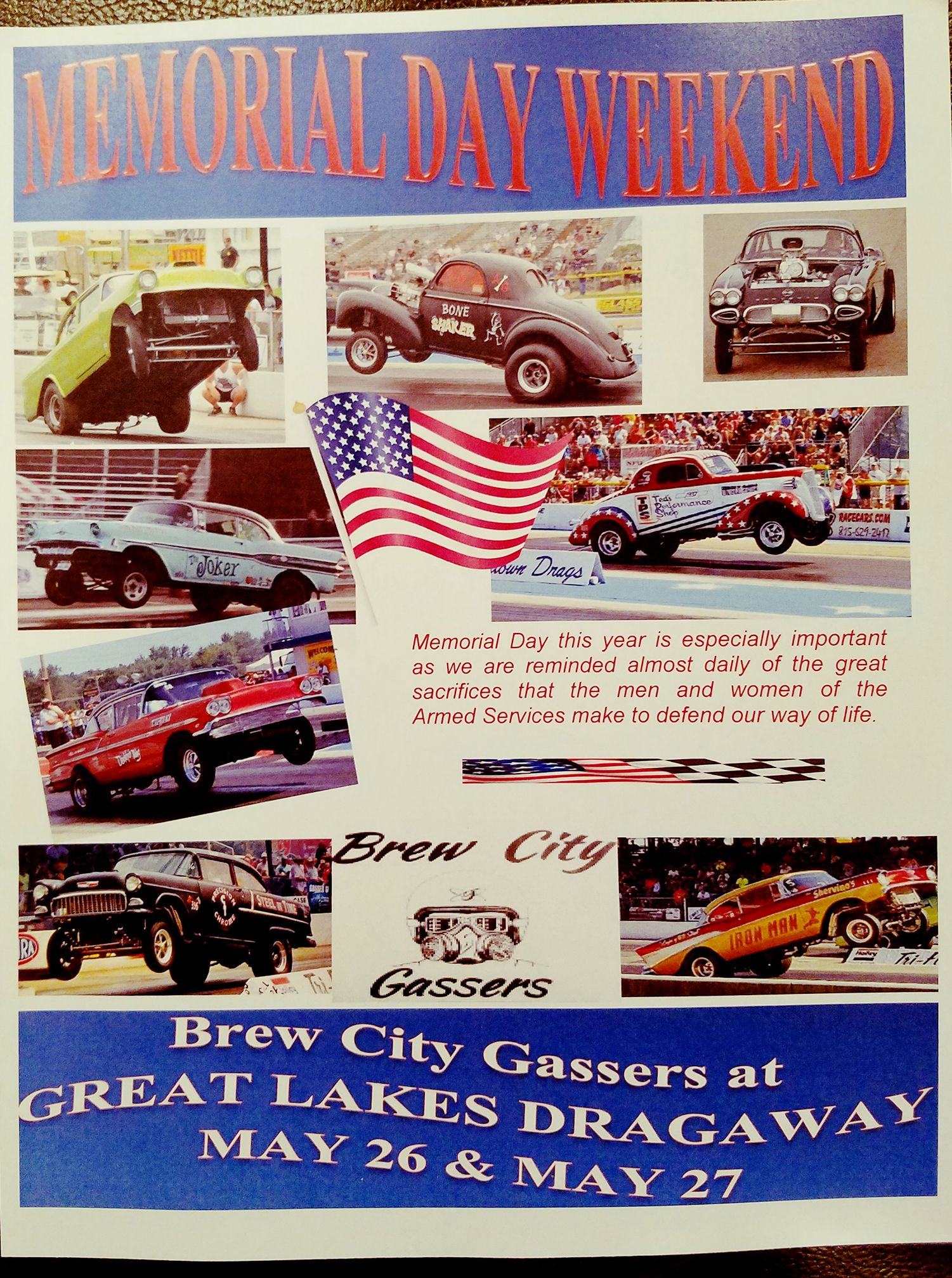 Brew City Gassers! @ Great Lakes Dragaway | Union Grove | Wisconsin | United States