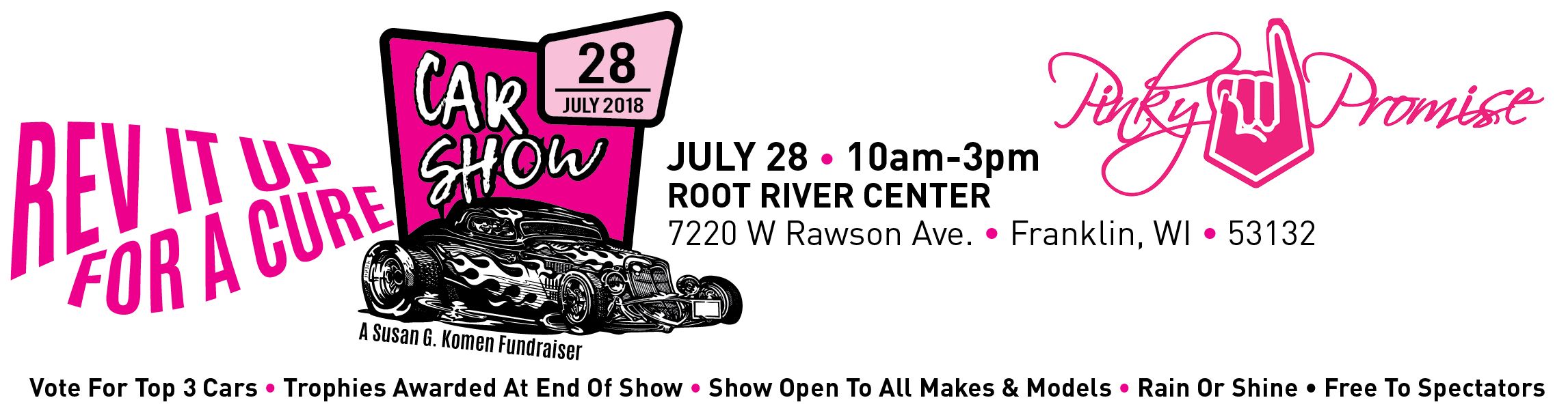 Rev it up for a Cure Car Show @ Root River Center | Franklin | Wisconsin | United States