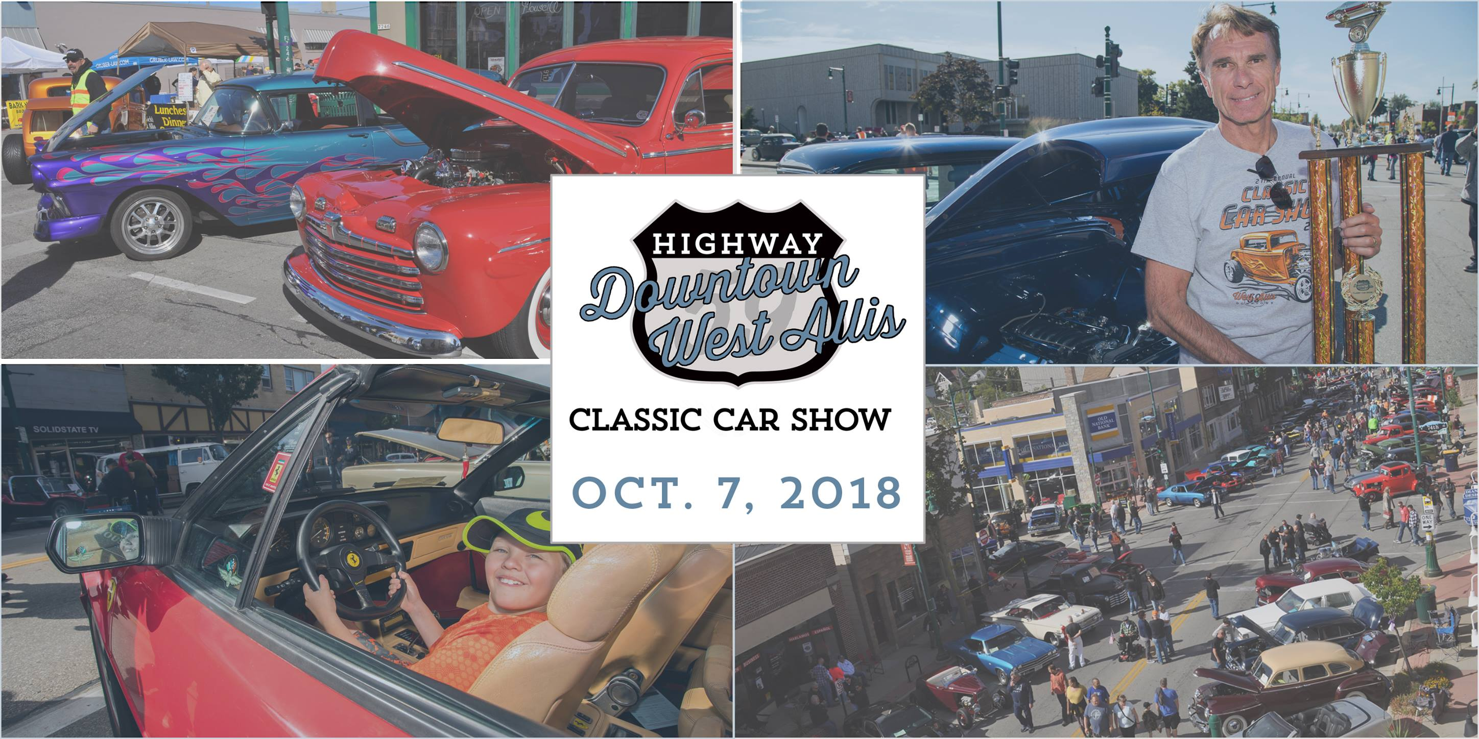 Classic Car Show @ Downtown | West Allis | Wisconsin | United States