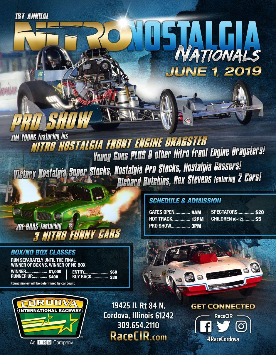 Nitro Nostalgia Nationals @ Cordova international Raceway