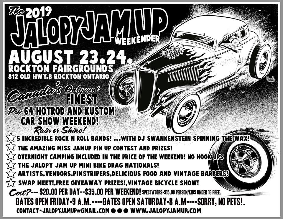 Jalopy Jam Up Weekender @ Rockton Fairgrounds