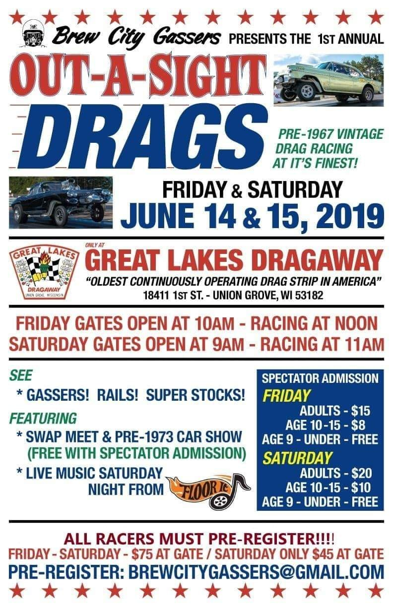 Out - A - Sight Drags @ Great Lakes Dragaway