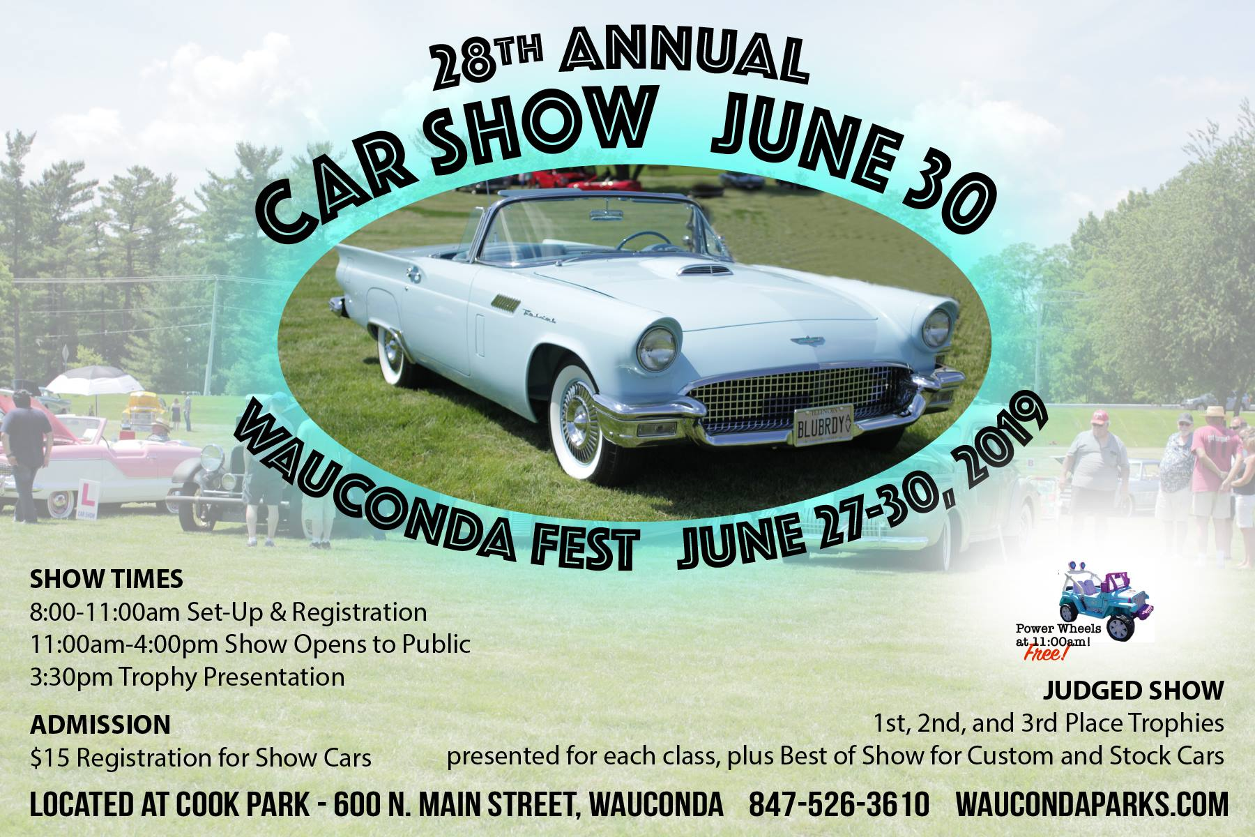 Wauconda Fest Car Show @ Cook Park
