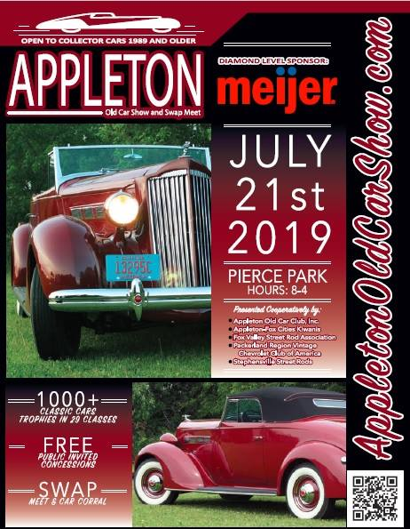 Appleton Old Car and Swap Meet @ Pierce Park