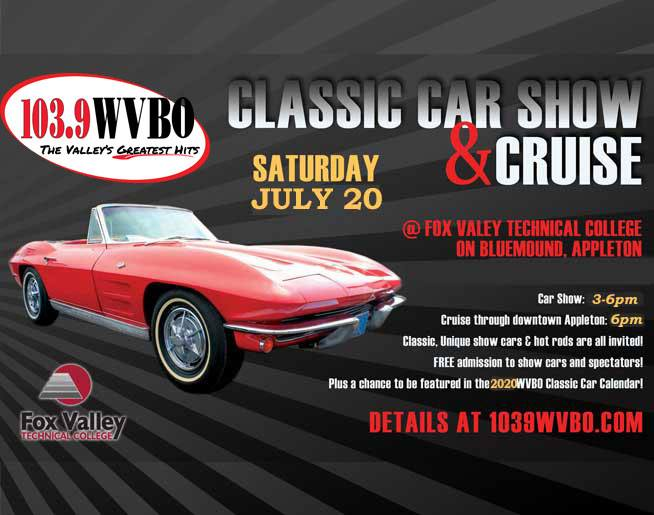 Classic Car Show & Cruise @ Fox Valley Technical College