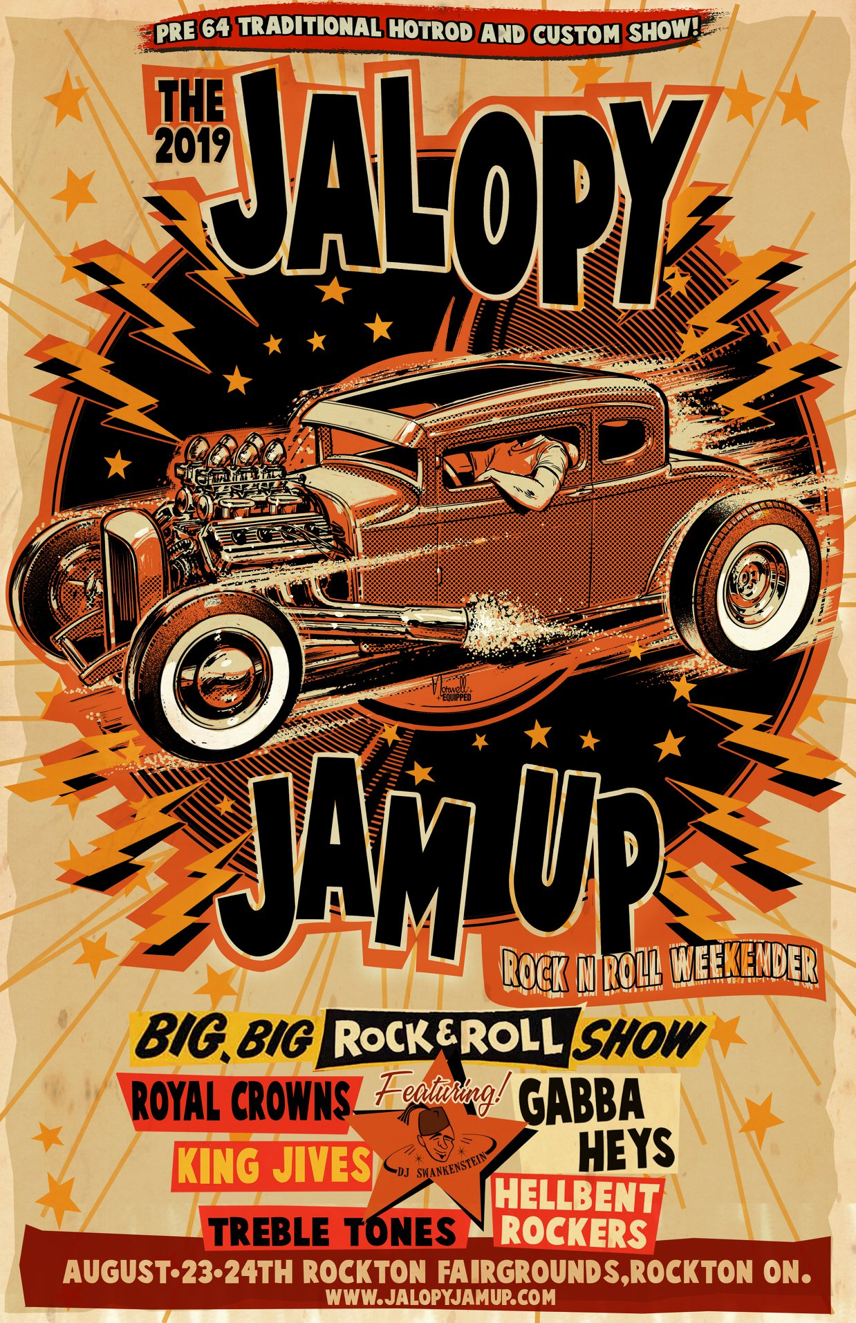 The Jalopy Jam-Up @ Rockton Fairgrounds