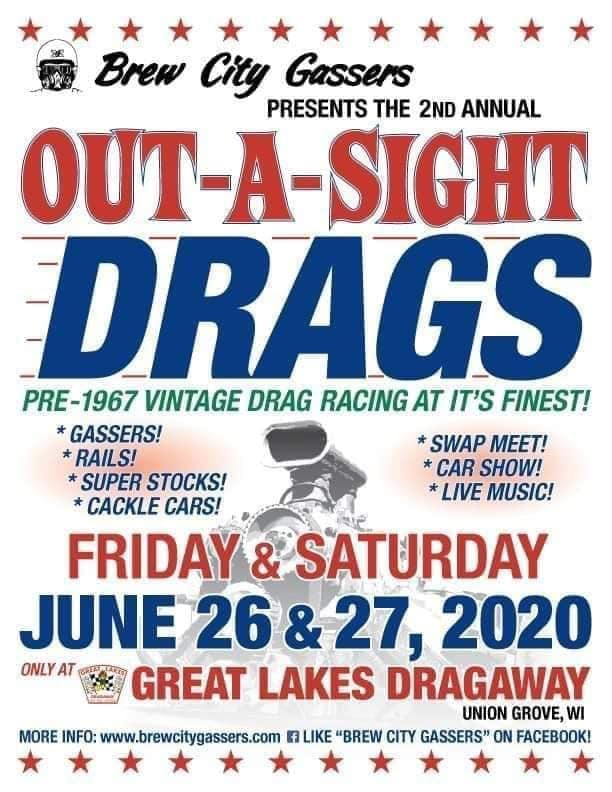 Out-A-Sight Drags @ Great Lakes Dragaway