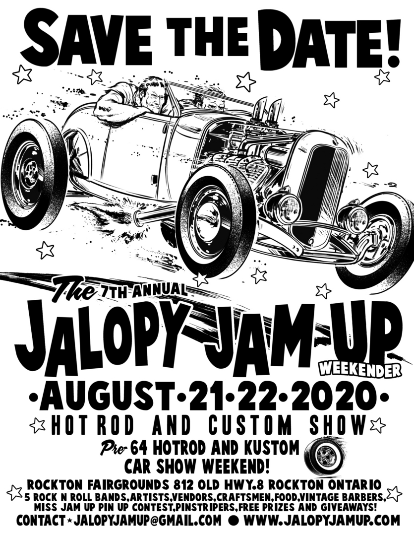 Jalopy Jam-Up Weekender @ Rockton Fairgrounds