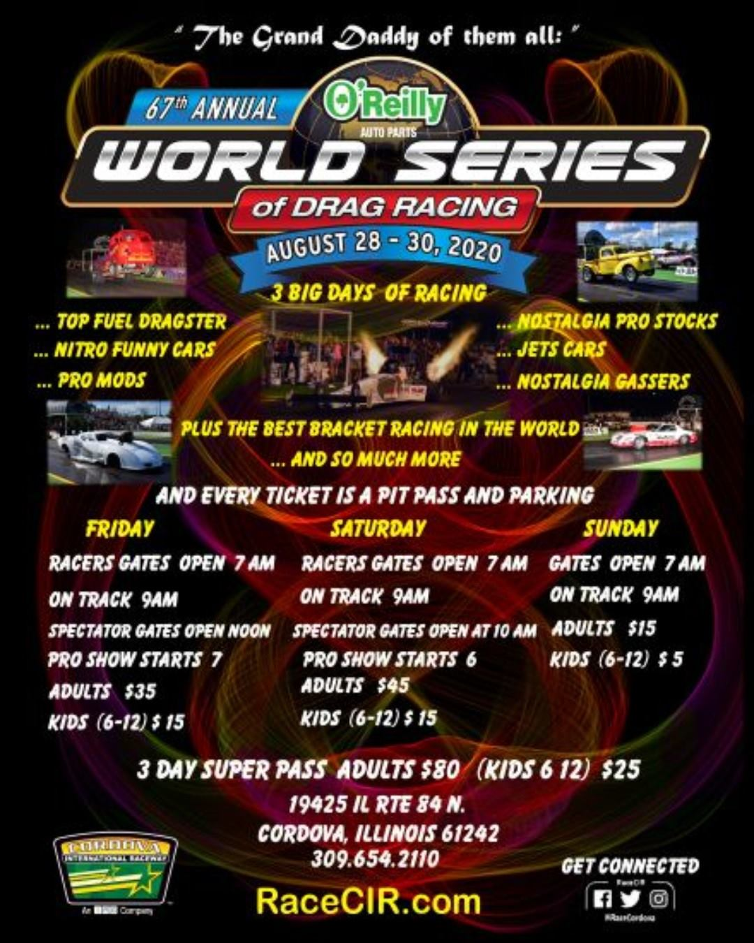 World Series of Drag Racing @ Cordova International Raceway