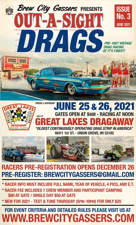 OUT-A-SIGHT DRAGS @ Great Lakes Drag-a-way