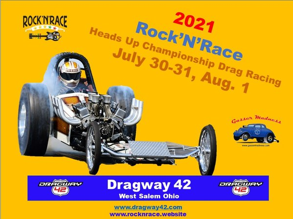 ROCK-N-RACE 2021 @ Dragway 42