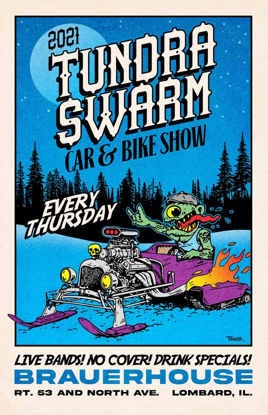 Tundra Swarm Car & Bike Show @ Baruerhouse